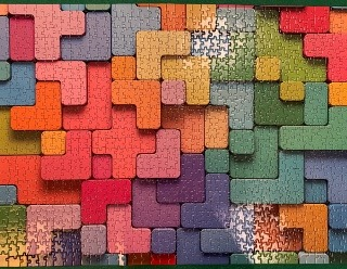 Puzzle done by Anne